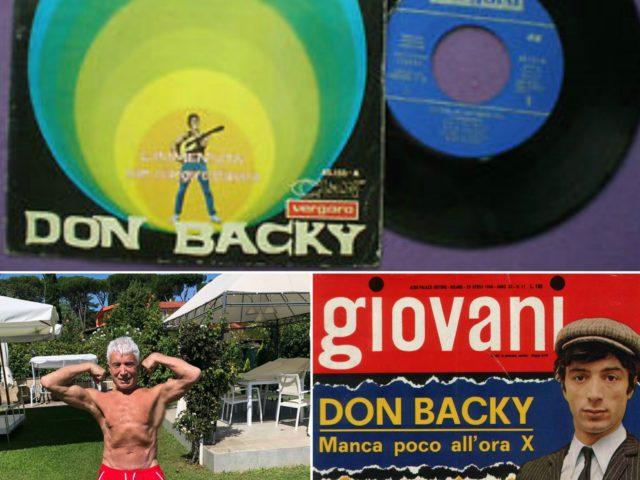 Auguri rock ad Aldo Caponi (in arte Don Backy) per i suoi primi 80 anni