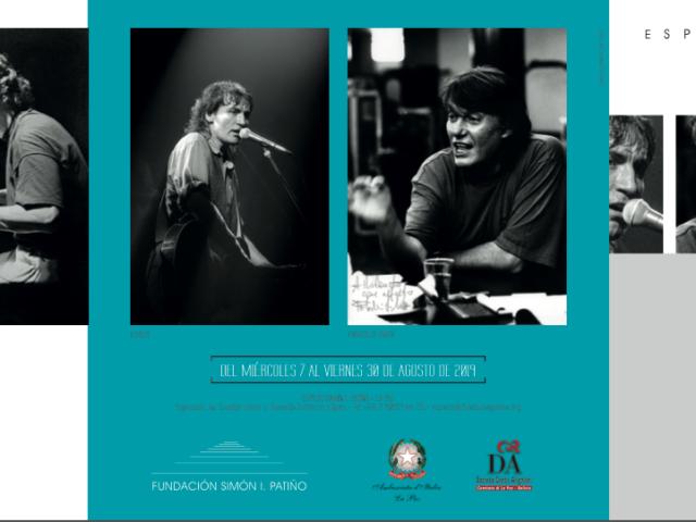 Rolando Giambelli da Brescia a La Paz in Bolivia per inaugurare una mostra fotografica e per tenere un concerto sui Beatles