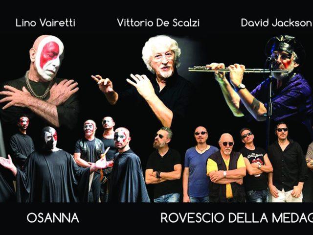 A Settembre al Parco il prog rock degli Osanna, Vittorio De Scalzi dei New Trolls, David Jackson e il Rovescio della Medaglia