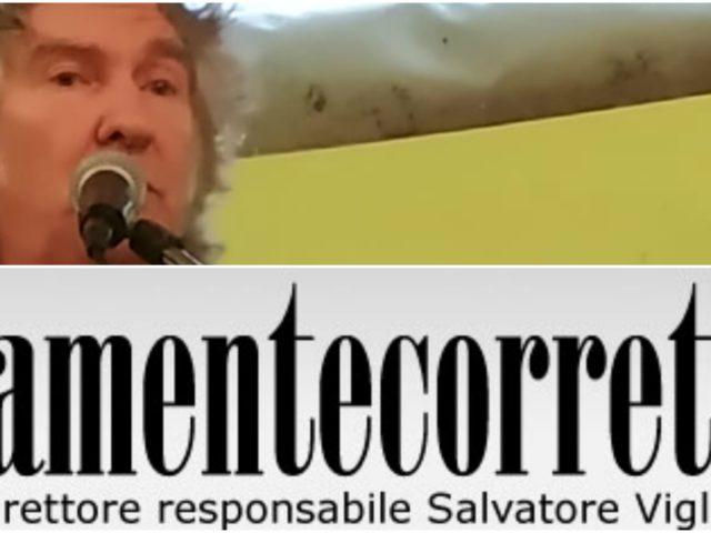 Pietro Sabatini su PoliticamenteCorretto.com, in attesa del concerto a Piombino