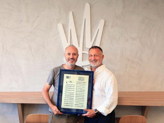 I primi 20 anni di collaborazione tra le edizioni Warner Chappell e Diego Calvetti