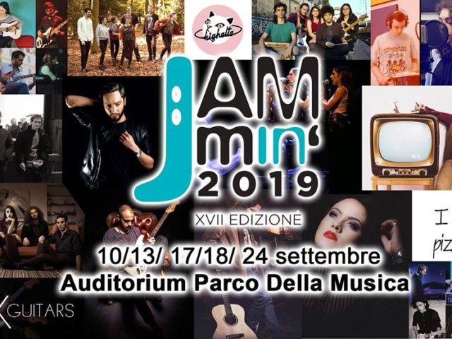 Jammin' 2019 all'Auditorium di Roma dal 10 al 24 settembre con NeuF, NooM, Cigno e Serena Brancale