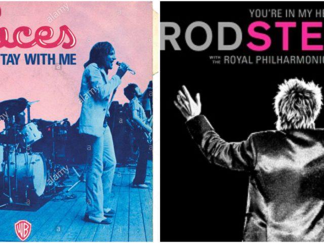 Rod Stewart nell'album live con la Royal Philarmonic Orchestra, ritorna agli esordi con i Faces