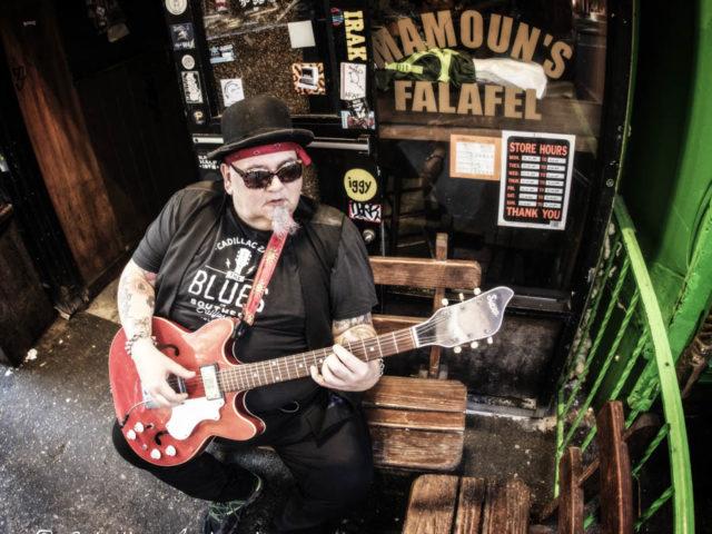 La star del blues Popa Chubby in Italia per tre concerti