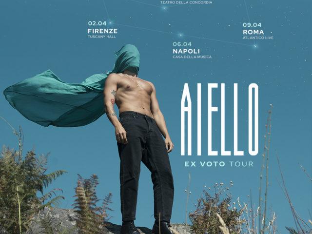 Il tour di Aiello partirà Sabato 21 Marzo dal Fabrique di Milano