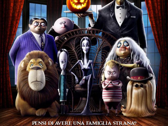 La Famiglia Addams al cinema dal 31 ottobre con la voce di Loredana Bertè