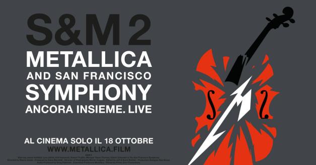 S&M2: il film sul concerto dei Metallica con la San Francisco Symphony