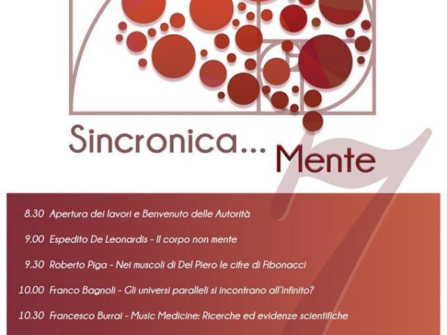 Dal rock al silenzio del cuore: Sabato 26 Ottobre a Firenze gli universi paralleli del convegno Sincronica..Mente