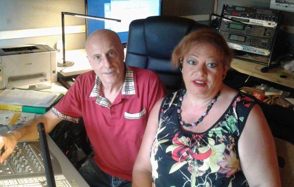 Lorella Moretti e Luca Bechelli, quelli di Pippolatico Music, talent scout del Chianti fiorentino..