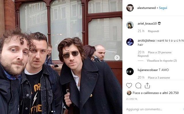 Giulio Pantalei dei Panta, Carlo Verdone e gli Arctic Monkeys.  La foto diventa virale