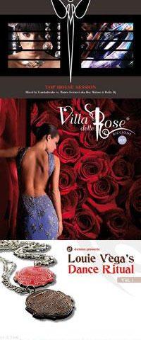 I club Peter Pan e La Villa Delle Rose di Riccione uniti alle selezioni di Louie Vega nelle compilation xtra-lusso della Energy