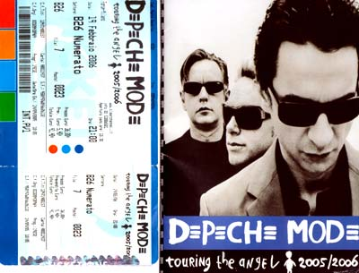 Depeche Mode Italia 19/02/2006: Musicalnews c'era!