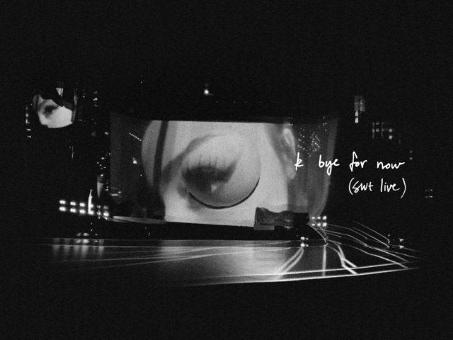 Ariana Grande oggi pubblica il nuovo album K bye for now (swt live)