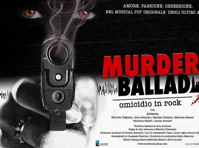 Teatro, torna in Italia Murder Ballad – Omicidio in Rock