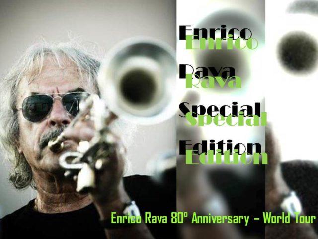Enrico Rava alla Sapienza di Roma il 10 dicembre per l'80th Anniversary World Tour