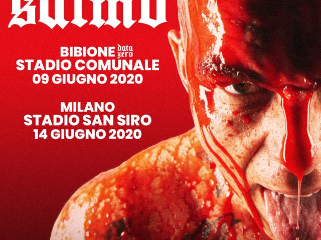 L'atteso evento di Salmo allo Stadio San Siro di Milano, sarà preceduto dalla data zero di Martedì 9 Giugno 2020 a Bibione (Venezia)