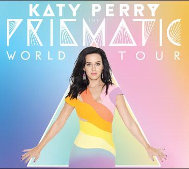 Katy Perry: Prismatic World Tour anche in Italia a Milano