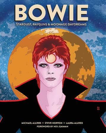 David Bowie, esce la biografia a fumetti