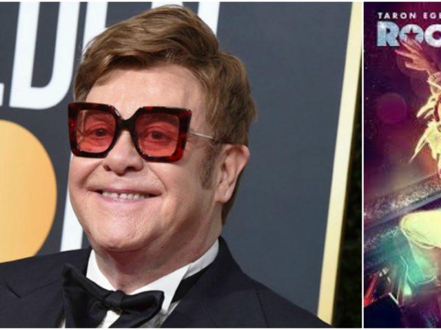 Elton John vince un nuovo Golden Globe, ma inciampa sul palco..