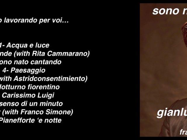 Cosa conterrà il disco del tenore Gianluca Paganelli che interpreta brani del cantautore Franco Simone?