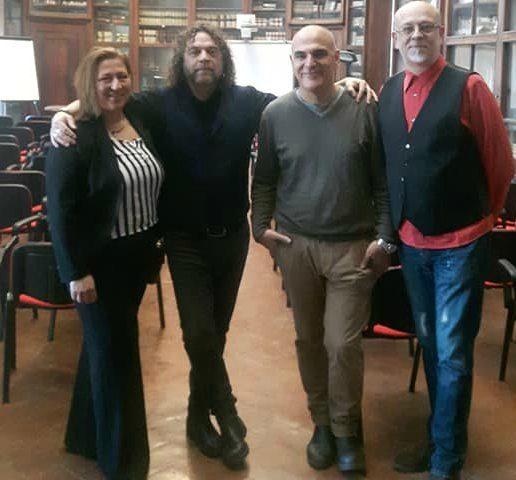 I gotta ramble on, sing my song: Mercoledi' 20 Marzo successo per Iacopo Meille al Liceo Classico Galileo di Firenze per la rassegna sui parolieri