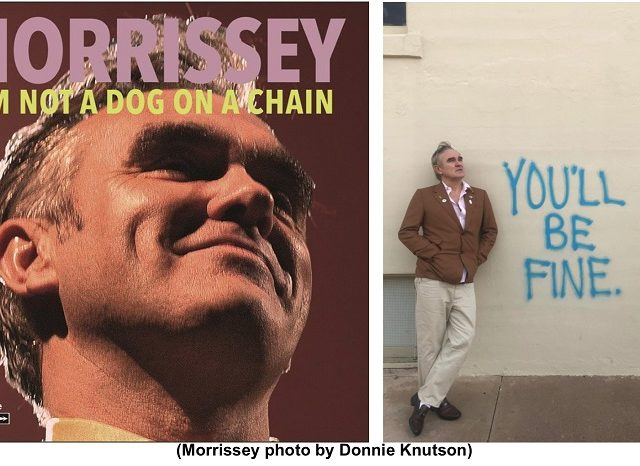 Morrissey, il 20 marzo esce I Am Not A Dog On A Chain