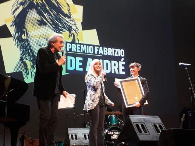 Lamine (Viviana Strambelli) vince il XVIII Premio De André