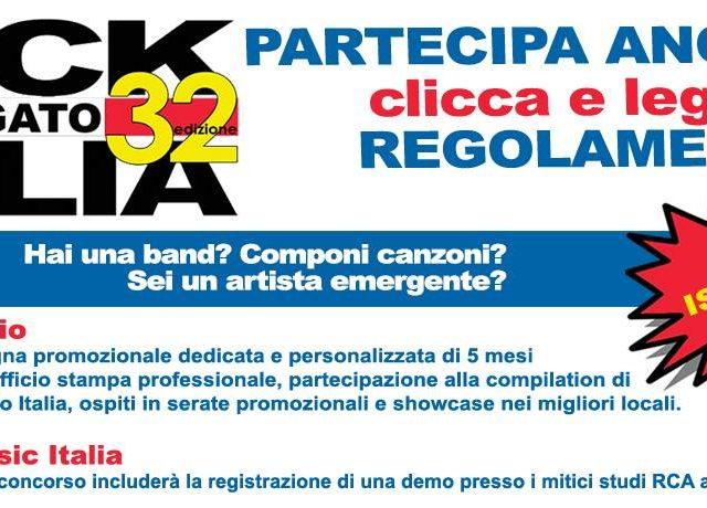Prende il via Rock Targato Italia, il contest nazionale giunto alla 32esima edizione