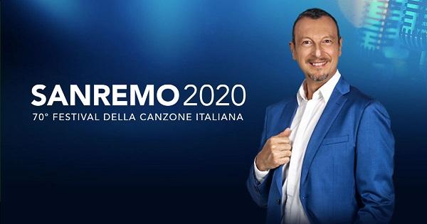 Il Festival di Sanremo di Amadeus nella terza serata raggiunge il 54.5% di share ..