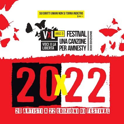 20×22': il cd-book di 'Voci per la libertà – Una canzone per Amnesty