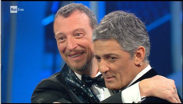 Amadeus e Fiorello per la finale di Sanremo 2020 attraggono 11.477.000 telespettatori con 60.6% di share