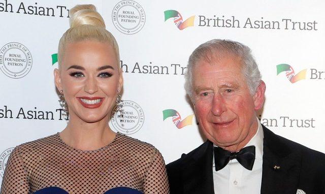 Il Principe Carlo nomina Katy Perry testimonial per il British Asian Trust