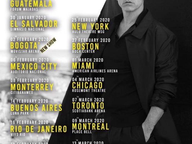 Eros Ramazzotti: grande successo per gli show a Buenos Aires e Rio de Janeiro