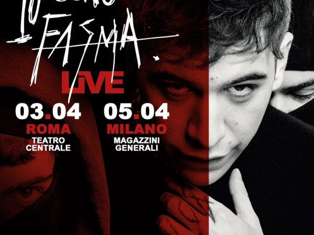 """Dopo  aver partecipato al Festival di Sanremo con """"Per sentirmi vivo"""", Fasma annuncia due date evento"""
