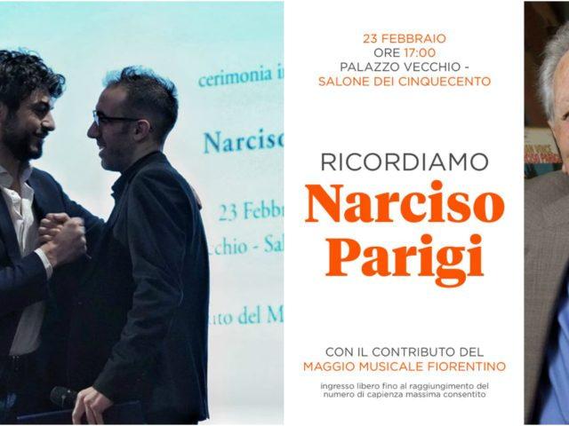 Quanta emozione a Palazzo Vecchio nel ricordare Narciso Parigi