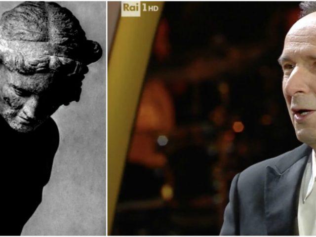 Nella terza serata del Festival di Sanremo, Roberto Benigni batte Morfeo
