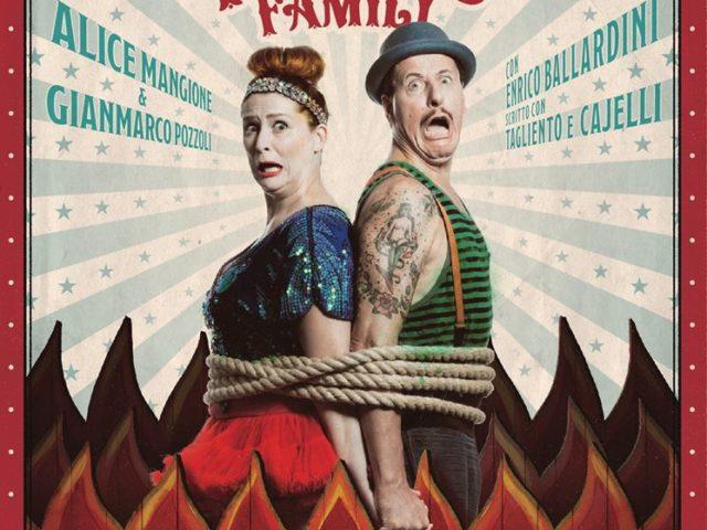 Perché sopravvivere ai figli è una cosa da ridere! Il tour de The Pozzolis Family prevede il cambio di data per Napoli …