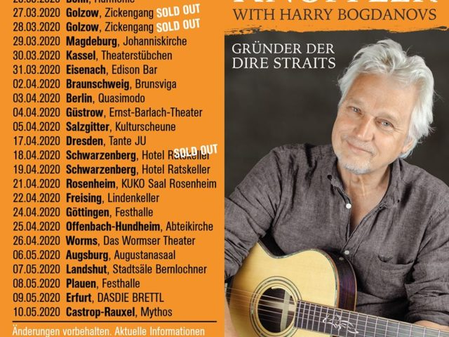David Knopfler (membro fondatore dei Dire Straits) posticipa il suo tour tedesco
