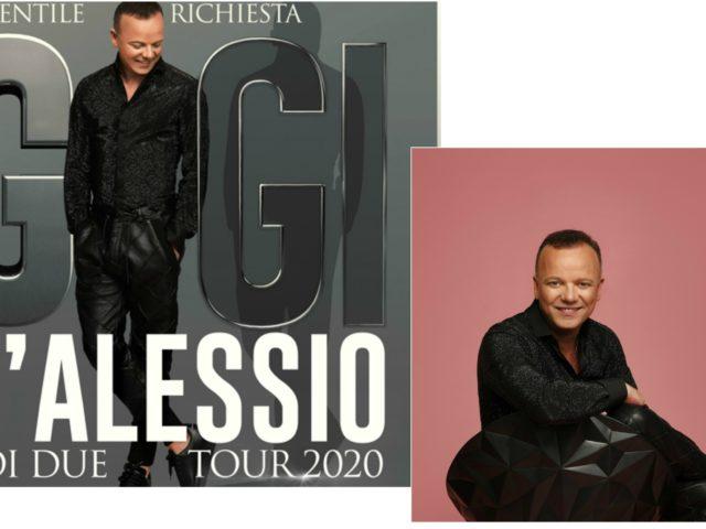 Il nuovo calendario del Noi Due Tour 2020 di Gigi D'Alessio