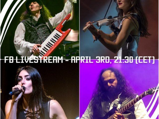 Vivaldi Metal Project: il 3 Aprile un live stream sul loro profilo Facebook…