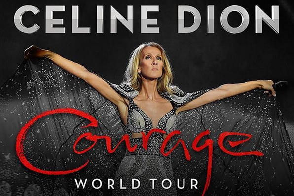 Rinviata la parte europea del Courage World Tour di Celine Dion