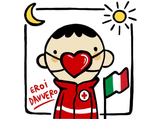 Eroi Davvero è il tributo musicale di Fabio Gangi per ringraziare la Croce Rossa di Vigevano