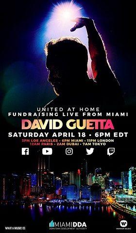 David Guetta, il 18 aprile dj set a sostegno della lotta contro la pandemia