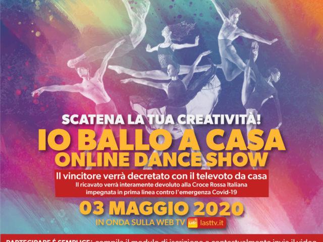 Io Ballo a Casa, contest online di danza e creatività per combattere questa emergenza sanitaria, aiutando la Croce Rossa