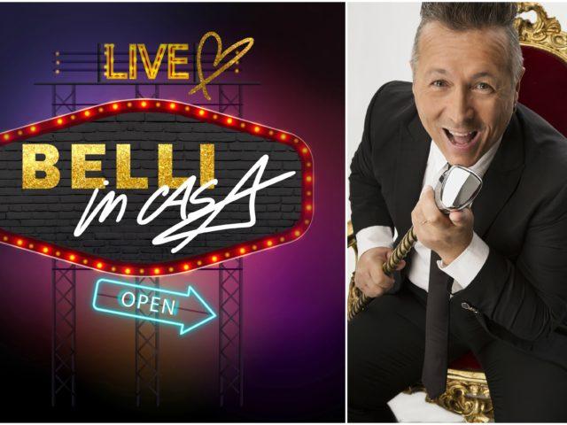 Fuori la paura e tutti tra le mura domestiche di Paolo Belli: nuova puntata del live show Belli in Casa …