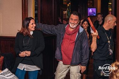 Una sera all'Hard Rock Cafè con Gianni Maroccolo