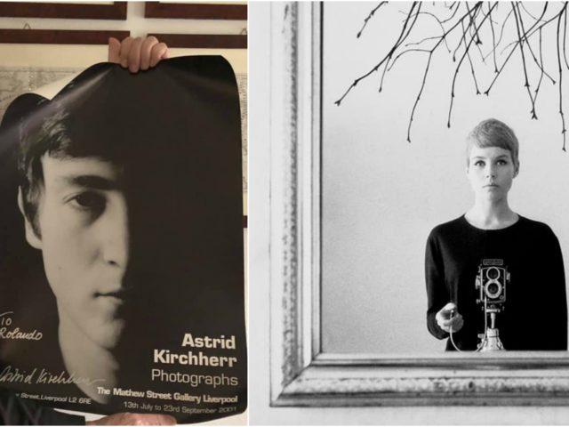 La scomparsa di Astrid Kirchherr, la fotografa tedesca dei Beatles: stanotte su RaiDue ne parlerà Rolando Giambelli…