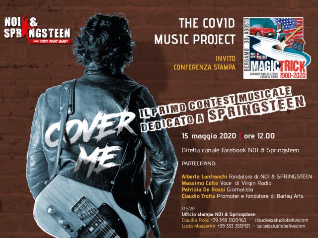 Cover Me:  il  primo contest italiano dedicato a Bruce Springsteen
