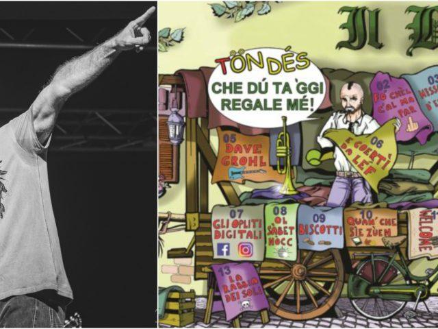 Acquerelli rock dialettali contro le attuali forme di esibizionismo banalotto: con noi Tiziano Incani, detto Il Bepi ..