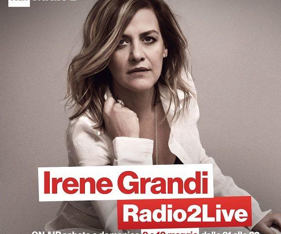 Irene Grandi, doppio appuntamento su Radio 2 Rai